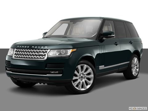 2014 Land Rover Range Rover 4-door   Sport Utility Front angle medium view photo