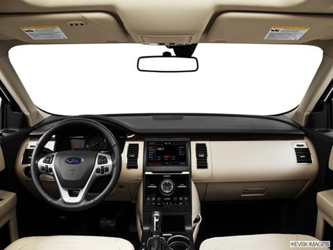 2014 Ford Flex 4-door Limited  Sport Utility Dashboard, center console, gear shifter view photo