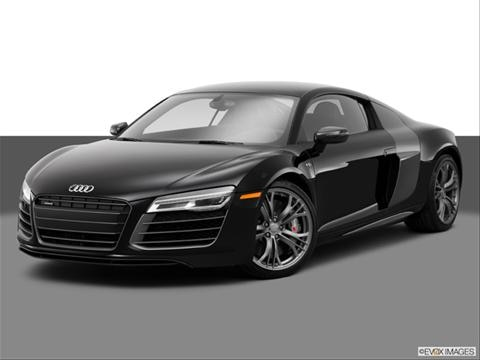 2014 Audi R8 2-door V8  Coupe Front angle medium view photo