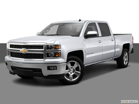 2014 Chevrolet Silverado 1500 Crew Cab 4-door LT  Pickup Front angle medium view photo