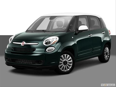 2014 FIAT 500L 4-door Pop  Hatchback Front angle medium view photo