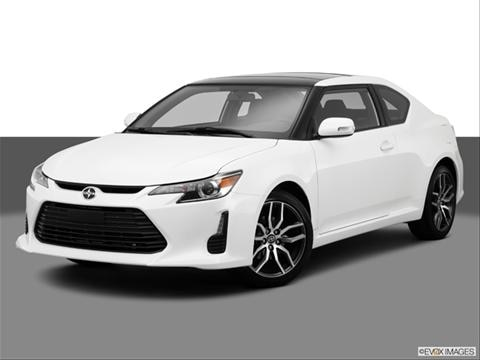 2014 Scion tC 2-door   Hatchback Coupe Front angle medium view photo