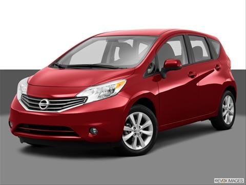 2014 Nissan Versa 4-door Note SV  Hatchback Front angle medium view photo