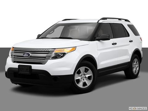2014 Ford Explorer 4-door Limited  Sport Utility Front angle medium view photo