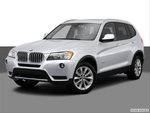 2014 BMW X3 4-door xDrive28i  Sport Utility Front angle medium view photo