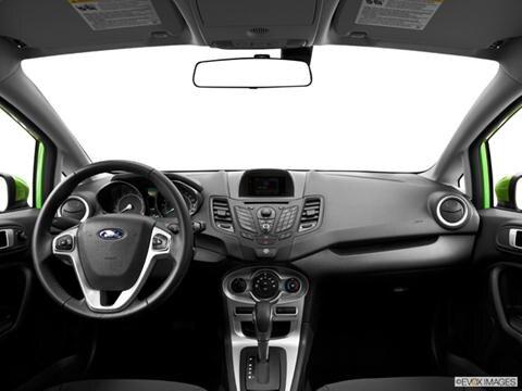 2014 Ford Fiesta 4-door S  Hatchback Dashboard, center console, gear shifter view photo