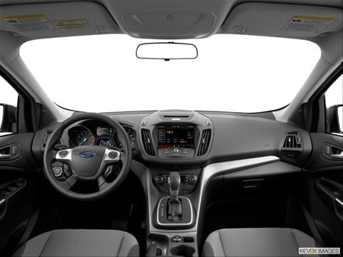 2014 Ford Escape 4-door SE  Sport Utility Dashboard, center console, gear shifter view photo
