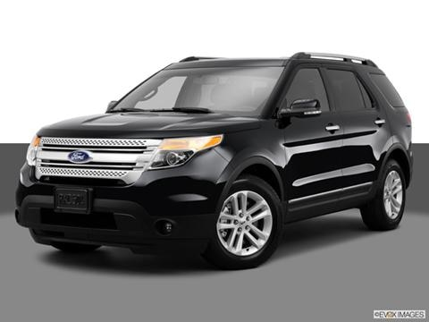 2014 Ford Explorer 4-door XLT  Sport Utility Front angle medium view photo