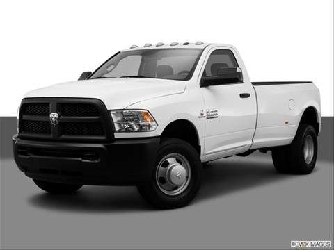 2014 Ram 3500 Regular Cab 2-door Tradesman  Pickup Front angle medium view photo