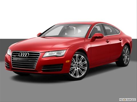 2014 Audi A7 4-door Premium Plus  Sedan Front angle medium view photo