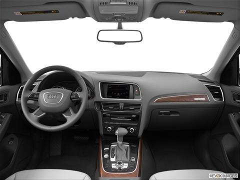 2014 Audi Q5 4-door 2.0T Premium Plus  Sport Utility Dashboard, center console, gear shifter view photo