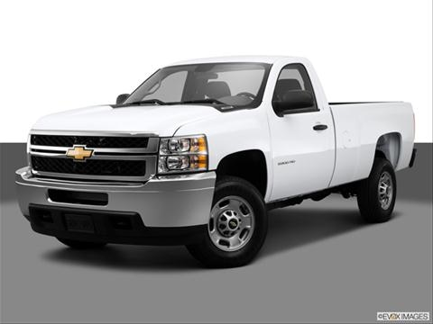 2014 Chevrolet Silverado 2500 HD Regular Cab 2-door LT  Pickup Front angle medium view photo