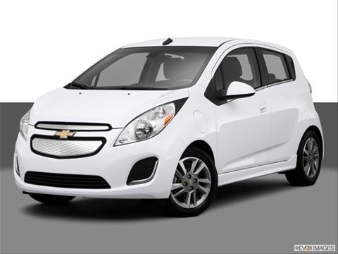 2014 Chevrolet Spark EV 4-door 1LT  Hatchback Front angle medium view photo