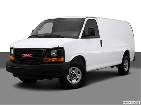 2014 GMC Savana 2500 Cargo 3-door Diesel Extended  Extended Van Front angle medium view photo