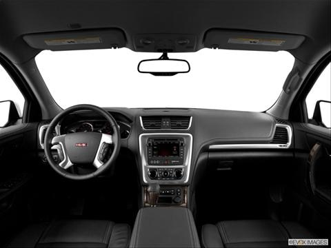 2014 GMC Acadia 4-door SLT-2  Sport Utility Dashboard, center console, gear shifter view photo