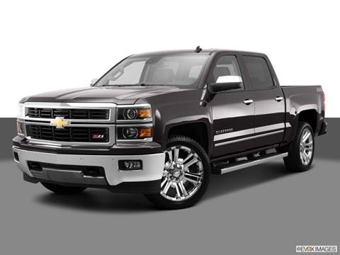 2014 Chevrolet Silverado 1500 Crew Cab 4-door Z71 LTZ  Pickup Front angle medium view photo
