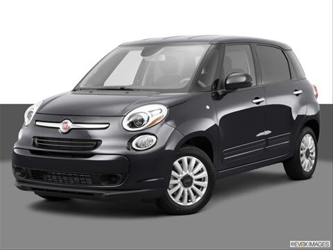 2014 FIAT 500L 4-door Easy  Hatchback Front angle medium view photo