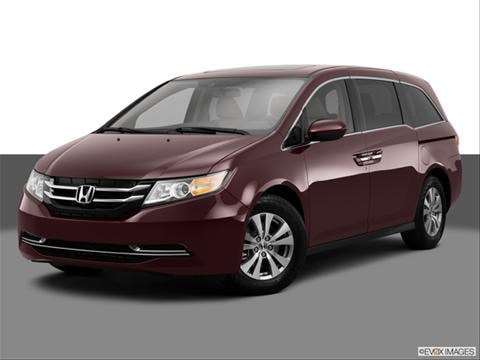 2014 Honda Odyssey 4-door EX-L  Van Front angle medium view photo