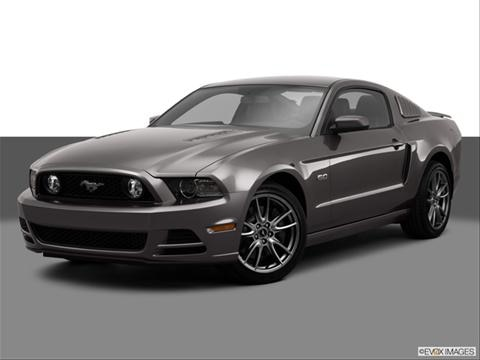 2014 Ford Mustang 2-door GT Premium  Coupe Front angle medium view photo
