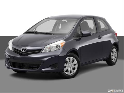 2014 Toyota Yaris 2-door L  Hatchback Coupe Front angle medium view photo