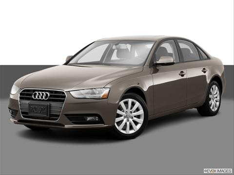 2014 Audi A4 4-door Premium  Sedan Front angle medium view photo