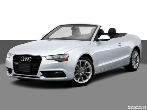 2014 Audi A5 2-door Premium  Cabriolet Front angle medium view photo