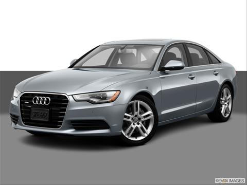 2014 Audi A6 4-door TDI Prestige  Sedan Front angle medium view photo