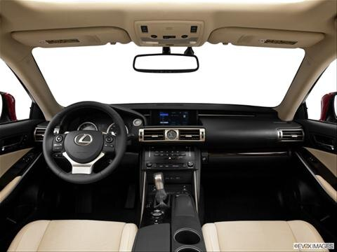 2014 Lexus IS 4-door IS 250  Sedan Dashboard, center console, gear shifter view photo