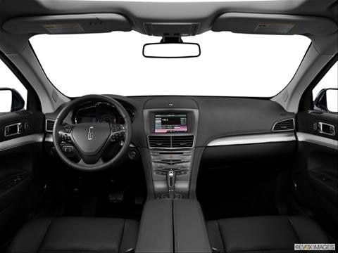 2014 Lincoln MKT 4-door   Sport Utility Dashboard, center console, gear shifter view photo