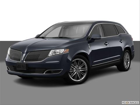2014 Lincoln MKT 4-door   Sport Utility Front angle medium view photo