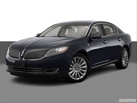 2014 Lincoln MKS 4-door   Sedan Front angle medium view photo