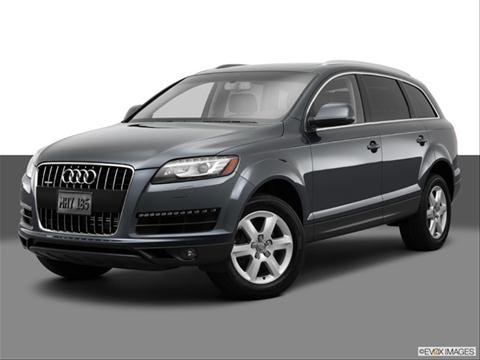 2014 Audi Q7 4-door 3.0T S line Prestige  Sport Utility Front angle medium view photo