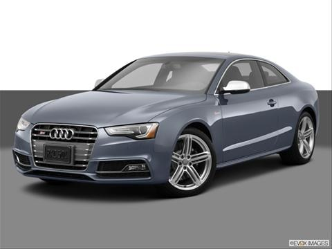 2014 Audi S5 2-door Premium Plus  Coupe Front angle medium view photo