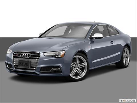 2014 Audi S5 2-door Premium Plus  Coupe Front angle medium view photo