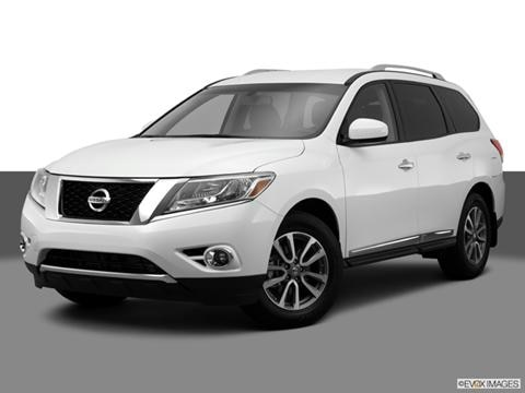 2014 Nissan Pathfinder 4-door SV  Sport Utility Front angle medium view photo