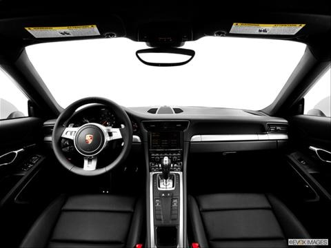 2014 Porsche 911 2-door Carrera 4  Coupe Dashboard, center console, gear shifter view photo