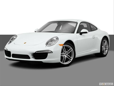 2014 Porsche 911 2-door Carrera 4  Coupe Front angle medium view photo
