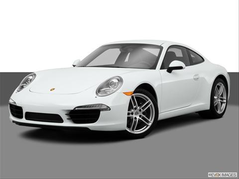 2014 Porsche 911 2-door Carrera  Coupe Front angle medium view photo