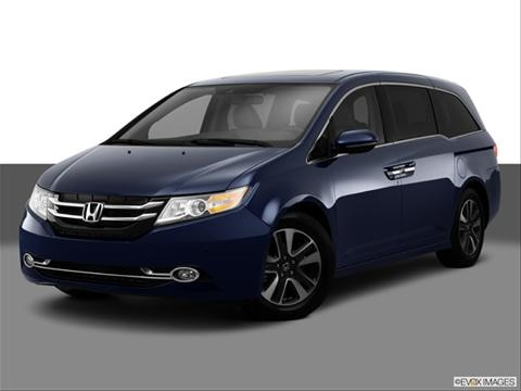 2014 Honda Odyssey 4-door Touring  Van Front angle medium view photo