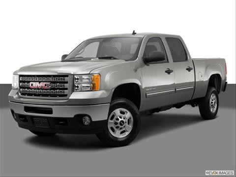 2014 GMC Sierra 2500 HD Crew Cab 4-door SLT  Pickup Front angle medium view photo