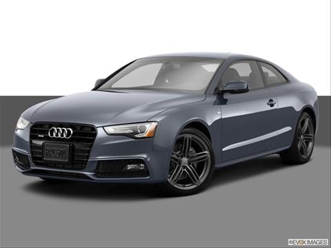 2014 Audi A5 2-door Prestige  Coupe Front angle medium view photo