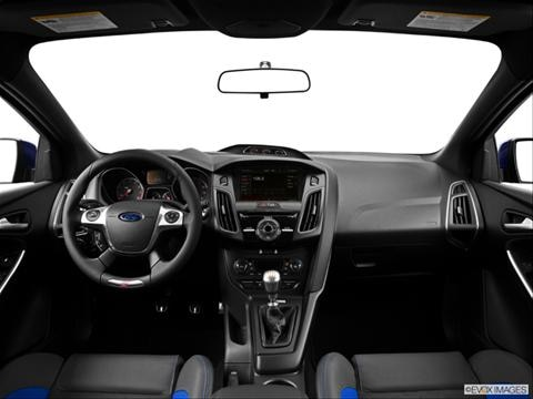 2014 Ford Focus ST 4-door   Hatchback Dashboard, center console, gear shifter view photo