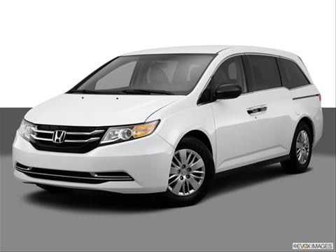 2014 Honda Odyssey 4-door LX  Van Front angle medium view photo