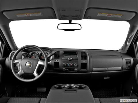 2014 Chevrolet Silverado 2500 HD Crew Cab 4-door Work Truck  Pickup Dashboard, center console, gear shifter view photo