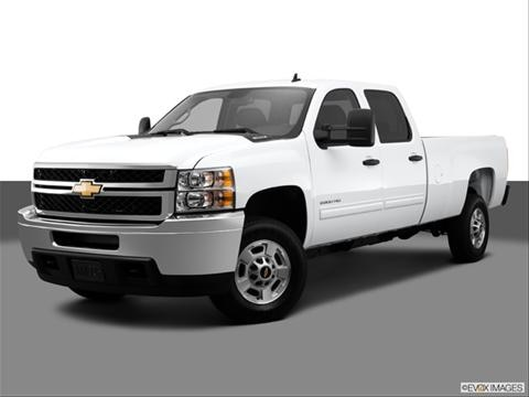 2014 Chevrolet Silverado 3500 HD Crew Cab 4-door Work Truck  Pickup Front angle medium view photo