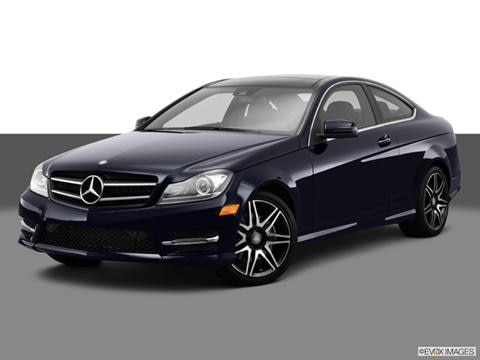 2014 Mercedes-Benz C-Class 2-door C350  Coupe Front angle medium view photo