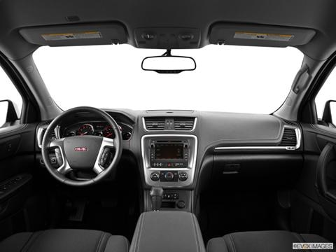 2014 GMC Acadia 4-door SLE-2  Sport Utility Dashboard, center console, gear shifter view photo