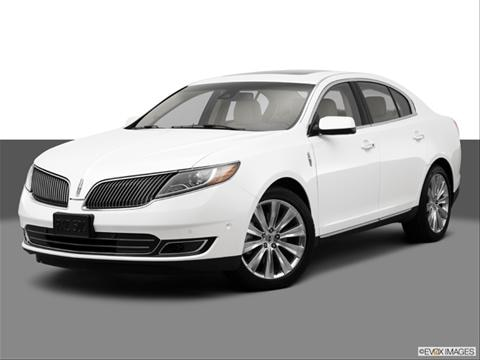 2014 Lincoln MKS 4-door EcoBoost  Sedan Front angle medium view photo