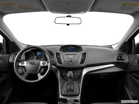 2014 Ford Escape 4-door S  Sport Utility Dashboard, center console, gear shifter view photo