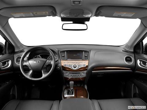 2014 Infiniti QX60 4-door 3.5  Sport Utility Dashboard, center console, gear shifter view photo